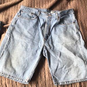 Levi's 505 Men's Heavy Denim Shorts 100% Cotton
